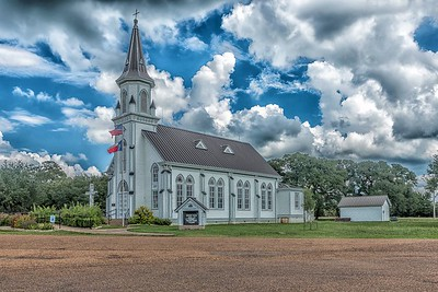 Saints Cyril and Methodius Church - Dubina, Texas