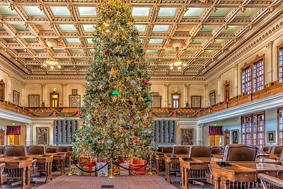 Christmas at State Capitol - Austin