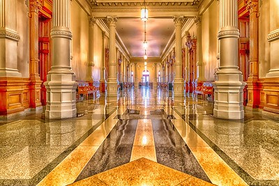 West Hallway - Texas State Capitol