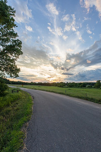 HDR Sunset in the Midwest