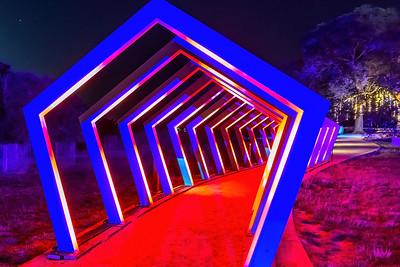 TUNNEL OF LIGHT - by Bill J Boyd