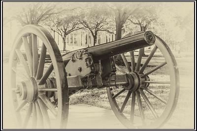 Civil War Gun - By Bill J Boyd