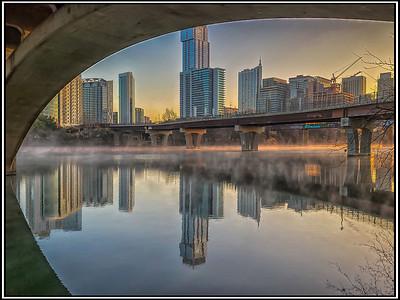 A VIEW of AUSTIN - by Bill J Boyd
