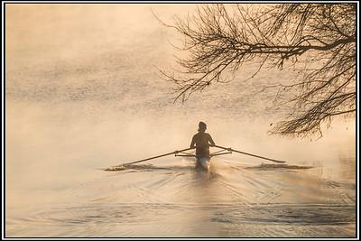 ROWING - by Bill J Boyd