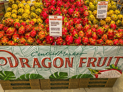 DRAGON FRUIT - by Bill J Boyd