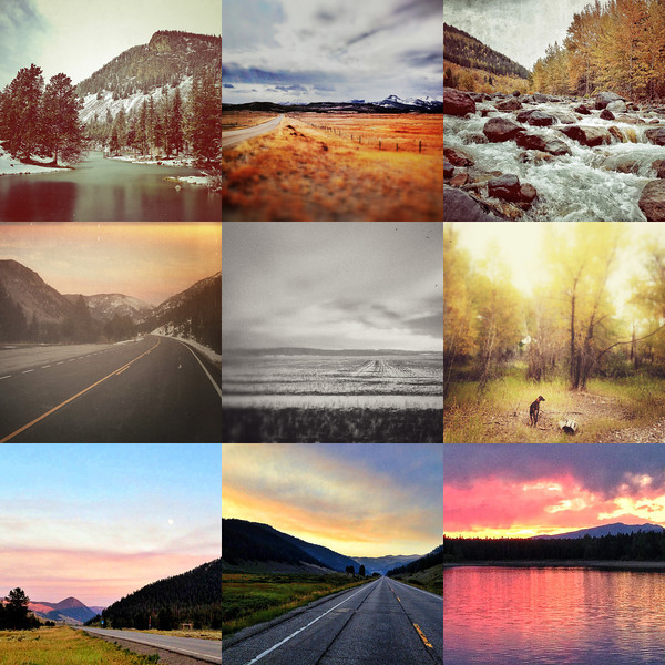 """Instagram Alert, Mostly MT<br /> <br /> Here's a peak at some of the iphonography you've been missing if you haven't followed me on instagram @PJBellinger.  I am a Billings Montana wedding and portrait photographer, but I love all types of photography and never leave home without my camera.  Like one of my mentors, Chase Jarvis, I think the best camera is the one that's with you, and more often than not, that's my iphone.  Instagram is my primary outlet for iphonography and it pushes updates to Twitter (@paulbellinger) and facebook (@pjbellinger).  So find me on one of those places and enjoy!<br /> <br /> Top row from left to right: Wild Bill Lake in the Beartooth Wilderness Montana; Heart Butte near East Glacier Montana; A stream on the Southeast side of Glacier National Park Montana.<br /> <br /> Middle row from left to right: Beartooth Highway looking South towards Red Lodge Montana; A snow row South of Billings Montana on Blue Creek; Sala on the banks of the Yellowstone River at Norm's Island in Billings Montana.<br /> <br /> Bottom row from left to right: Moonrise over West Yellowstone just outside the park entrance south of Big Sky Montana; Big Sky Sunset just south of Big Sky Montana; Sunset over Island Park Reservoir on Highway 20 in Idaho not far from West Yellowstone Montana.<br /> <br /> Montana wedding photography by Billings Montana wedding photographer Paul Bellinger.  An artistic vision for dramatic fine art photography as unique as your love story.  How do you dream of being photographed?  Contact Billings Montana wedding photographer Paul Bellinger for any wedding destination.   <a href=""""http://www.paulbellinger.com"""">http://www.paulbellinger.com</a><br /> <br /> Daily photo: Nov 12, 2013, created Nov 11, 2013"""