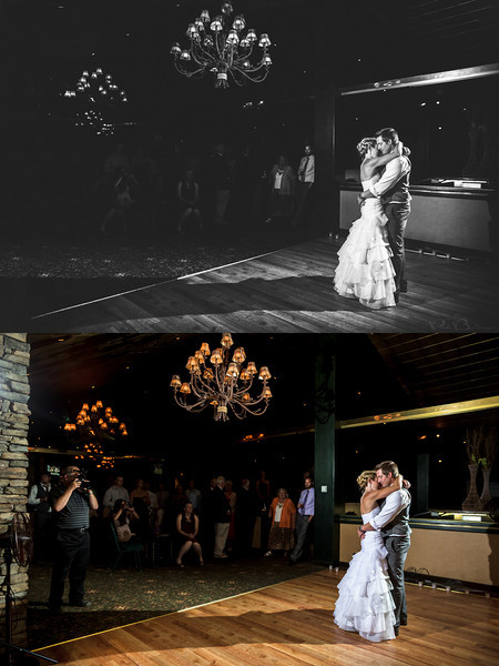 "Artist Signature Edit, Stateline NV<br /> <br /> A great example of an artist signature edit from Jeff and Mary's first dance.  As you can see, I did quite a bit of work to this photo to transform it into a work of art.  But what exactly is a signature edit?<br /> <br /> The artist signature edit is a unique product that I offer to my wedding clients.  Each artist signature edit is delicately crafted for a distinct look, ensuring that your love story is told in a unique voice, and that every couple receives one of a kind artwork for their home.  It is a difficult task to create artwork amidst the chaos of a wedding day, especially while trying to remain unobtrusive.  There are simply too many factors outside of the photographer's control to capture perfect images straight out of camera, except in the rarest of circumstances.  This is why the artist signature edit is so important.  The signature edit transforms a relatively unprintable photo into a work of art suitable for printing large and hanging on the wall.  Some take hours, and even days to fine tune to the artist's vision, while others can be created in about an hour.  By contrast, a typical color correction takes less than a minute.  With such a large time investment in each artist signature edit, clients receive only a limited number of signature edits with their wedding collection (the black label collection includes 10, and the platinum collection includes 5).  Additional signature edits can be purchased separately, and all wall art purchases include a signature edit as well. <br /> <br /> Montana wedding photography by Billings Montana wedding photographer Paul Bellinger.  An artistic vision for dramatic fine art photography as unique as your love story.  How do you dream of being photographed?  Contact Billings Montana wedding photographer Paul Bellinger for any wedding destination.   <a href=""http://www.paulbellinger.com"">http://www.paulbellinger.com</a><br /> <br /> Critiques are always welcome.<br /> <br /> Daily photo: Sept 12, 2013, taken Aug 10, 2013"