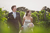 """Vintage Love in the Vineyards, College Station TX<br /> <br /> Lindsey and Justin's had a beautiful vineyard wedding in vintage style.  I'm not sure if they planned to have such a vintage look, but Colleen's classic beauty is a perfect fit for vintage styling.  Justin is a Volkswagen Bug man, and had a classic bug at the wedding as a getaway car.  He also had VW cufflinks!  I had so much fun with these two, despite the insane heat and humidity.  <br /> <br /> This photo is part of my photojournalism collection to show off some of the wedding photos that I take to tell the story of the day.  This part of the story is running from the ceremony, through the gorgeous vineyard, to Justin's classic Bug getaway car.  These photos are meant to be part of the wedding album, but not necessarily printed as wall art, although I think this one would look great printed large.  Of course I still love to give an artistic touch in my edit, despite trying to stick to a more photojournalistic look.<br /> <br /> Montana wedding photography by Billings Montana wedding photographer Paul Bellinger.  An artistic vision for dramatic fine art photography as unique as your love story.  How do you dream of being photographed?  Contact Billings Montana wedding photographer Paul Bellinger for any wedding destination.   <a href=""""http://www.paulbellinger.com"""">http://www.paulbellinger.com</a><br /> <br /> Critiques are always welcome.<br /> <br /> Daily photo: August 6, 2013, taken May 18, 2013"""