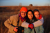 Me Nini and Taylor, Omaha NE<br /> <br /> In the spirit of the self-portrait challenge.  We took this one at the barn shoot when the sun was setting.  It was a last second thing because the sun was disappearing and I had to call the girls back out of the car where they were warming up and ready to leave.  It's looking a bit too saturated I think but the sun created a nice catch light in our eyes.<br /> <br /> So I'm thinking I might make the daily post a weekend post and try to use my best photos or photos that I really want feedback on.<br /> <br /> Thanks for all of the comments on processing software yesterday.  I'll definitely look into PSE, Picasa and light room.  Any other suggestions?