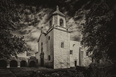 Spanish Mission...Goliad, Texas