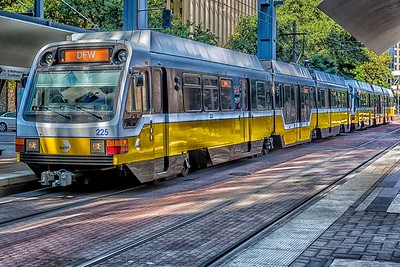DART Train - Dallas, Texas
