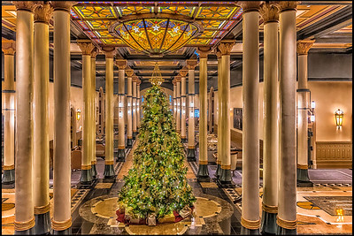 Driskill Hotel Christmas Tree