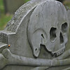 Skull Headstone