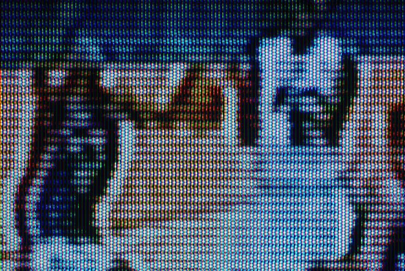 Basketball on TV, RGB