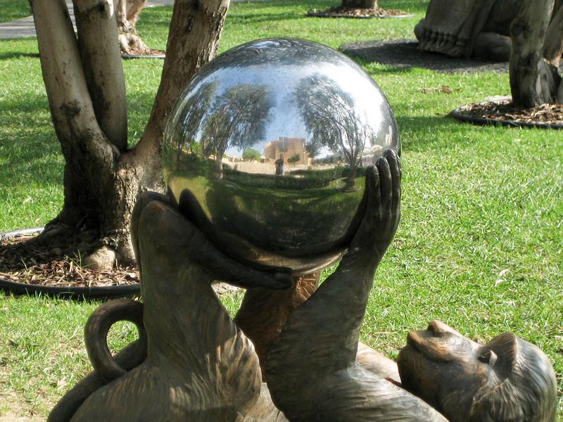 Monkey with Steel Ball