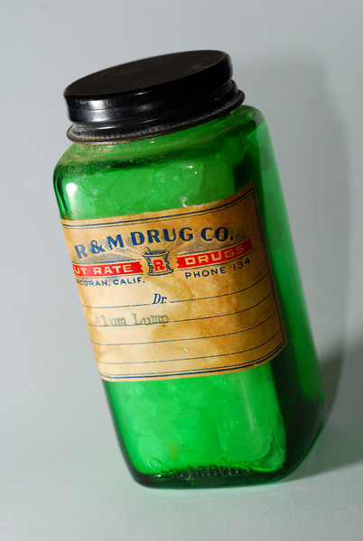 Green RX Bottle