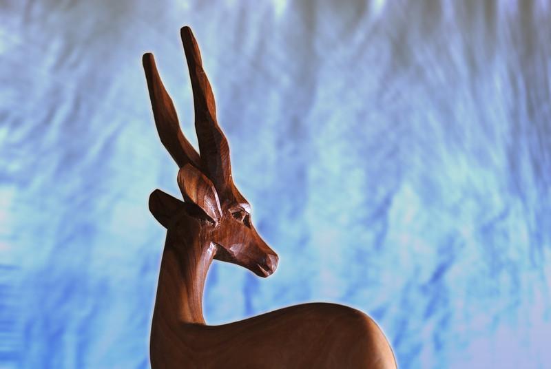 Gazelle Carving