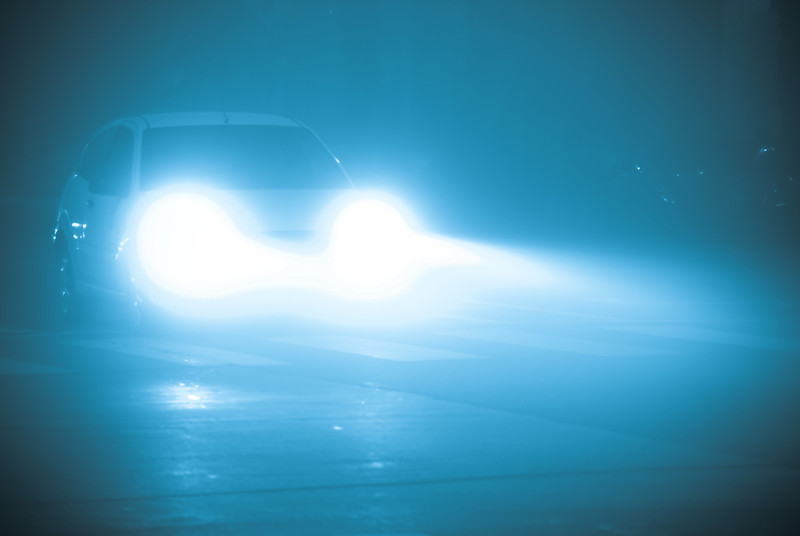 Headlights in Fog