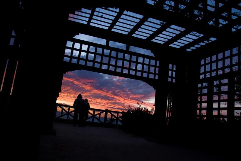Palisades Park Pergola