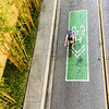 Biker and Bamboo