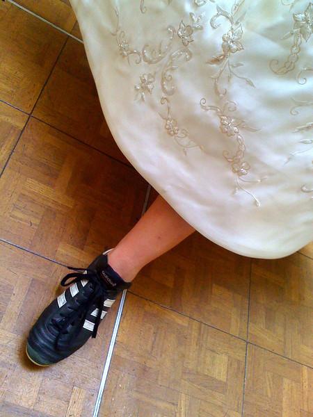 Wedding Cleats