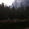 Half Dome and River
