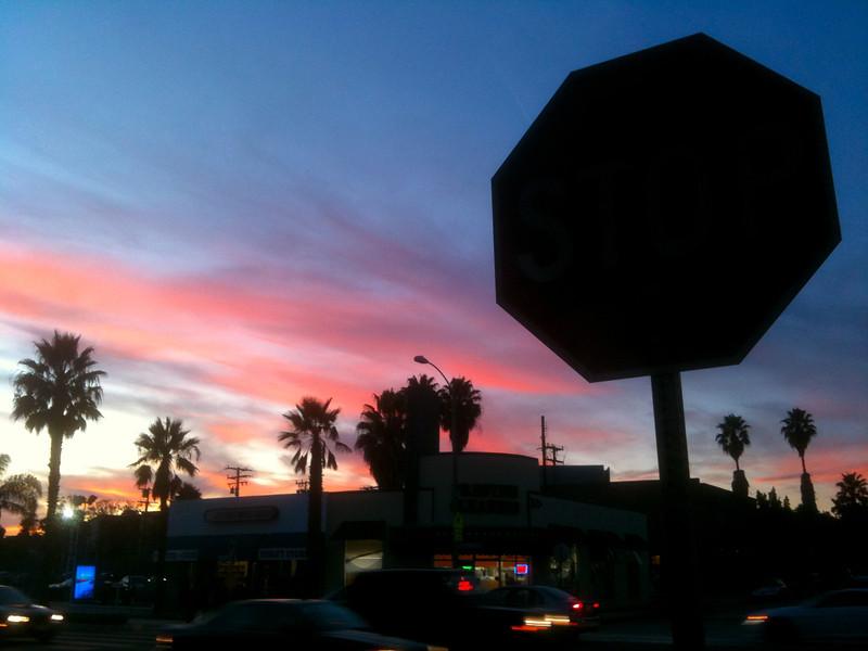 Sunset Traffic