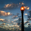 Lamp and Sky