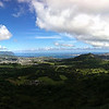 "<span id=""date"">_11/22/10_</span> <span id=""title"">Pali Lookout</span> <em>Hawaii Day 3</em> Another great tour of Oa'hu today, including this panoramic view of Kaneohe from Pali Lookout. We also visited the Byodo-In temple, went to Waikiki for lunch, and visited the Aloha tower. We also ate plenty of manapuas, malasadas and Ted's chocolate haupia cream pie. Yum.  <a href=""http://www.jawsnap.net/Travel/Hawaii2010/14883306_hHp9Z"">More Hawaii Photos!</a>  <a href=""http://www.jawsnap.net/Daily/year2/7157835_BfJPF#721360353_Khekn"">[last year]</a>"