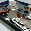 "<span id=""date"">_04/26/10_</span> <span id=""title"">Hard Drive Repair</span> This is my wife's hard drive that failed a few weeks ago, prompting a new computer purchase. I decided to dismantle it - I like using the super-strong magnets for stuff. The super-shiny platters are always fun, too.  <a href=""http://www.jawsnap.net/gallery/7157835_BfJPF#521916470_CpMA7"">[last year]</a>"