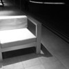 """<span id=""""date"""">_05/13/10_</span> <span id=""""title"""">White Chair</span> This chair can be found outside the Annenberg Space for Photography where I went for a lecture this evening. The speaker was Dennis Dimick, one of the executive editors at National Geographic. He gave a talk on environmental photojournalism that was really interesting. In other news, I got my <a href=""""http://www.moo.com/"""">moo.com</a> business cards today! They look great! I highly recommend them.  <a href=""""http://www.jawsnap.net/gallery/7157835_BfJPF#537979599_SLvGR"""">[last year]</a>"""