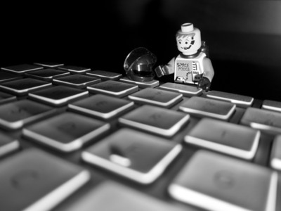 __01/25/11__ Press for Dashboard Today's desperation shot features a little Lego man standing over the F3 button of my keyboard. On my Mac, it brings up the dashboard. Isn't that fascinating? I took it with my S95 and I got the low angle lighting by... wait for it... turning the camera upside down! Also fascinating. Stay tuned for tomorrow's shot, I hope to set up my fifth and final (for now, anyways) water drop photo! And if that isn't fascinating then, well, I just give up.  [last year] mmm, these are back in season...