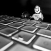 """<span id=""""date"""">__01/25/11__</span> <span id=""""title"""">Press for Dashboard</span> Today's desperation shot features a little Lego man standing over the F3 button of my keyboard. On my Mac, it brings up the dashboard. Isn't that fascinating? I took it with my S95 and I got the low angle lighting by... wait for it... turning the camera upside down! Also fascinating. Stay tuned for tomorrow's shot, I hope to set up my fifth and final (for now, anyways) water drop photo! And if that isn't fascinating then, well, I just give up.  <a href=""""http://www.jawsnap.net/Daily/year2/7157835_BfJPF#773716231_knGzp"""">[last year]</a> <em>mmm, these are back in season...</em>"""