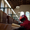 Unlicensed Elmo Reads a Book