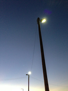 Three Lightpoles