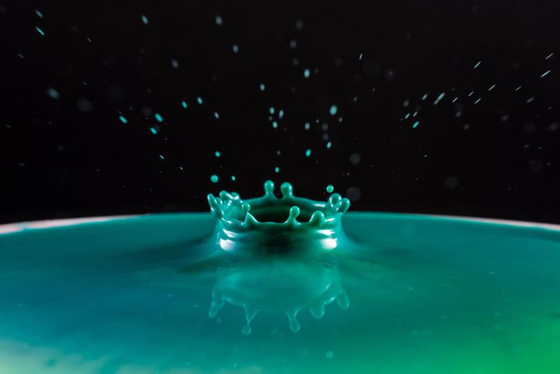Teal Splash