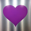 2014-06-14<br /> Heart<br /> This purple heart is from the hospital where my dad had emergency surgery - very scary stuff. He's in good care, the whole family is here, and he's making great progress so far, so we're very thankful. But not quite what we expected for Fathers Day.