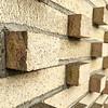 Protruding Bricks