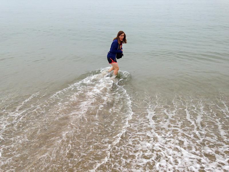 Ann and the Ocean