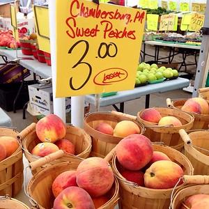 Peaches on the strip!
