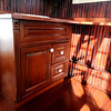 "TINYHOUSE<br /> The ""kitchen"" cabinets in Bill Young's transportable house. More facilities can be added on to the house, such a small refrigerator or a hot water tank.<br /> Photo by Marty Caivano/Camera/Dec. 14, 2010"