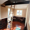 TINYHOUSE<br /> Bill Young's transportable house uses a stowable ladder to access the sleeping loft. <br /> Photo by Marty Caivano/Camera/Dec. 14, 2010