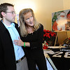 ORGAN<br /> Mary Lamirato, right, describes how she listened to her son's heart after it was transplanted into recipient Justin Greene. <br /> Photo by Marty Caivano/Camera/Dec. 14, 2010
