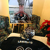 ORGAN<br /> Photographs and mementos from Jared Lamirato on display at Crist Mortuary.<br /> Photo by Marty Caivano/Camera/Dec. 14, 2010