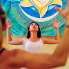 YOGA<br /> Keli Sakamoto takes a yoga class at Om Time in Boulder.<br /> Photo by Marty Caivano/July 8, 2011