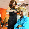 HISPANIC<br /> Beatriz Lentz, who moved to the U.S. from Argentina, has her hair done by Leticia Flanagan at Salon Naranja.<br /> Photo by Marty Caivano/Camera/Sept. 2, 2010
