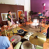 F0812SAMPLES03.jpg F0812SAMPLES03<br /> The Samples performs one of their songs during their rehearsal at Skytrail Recording Studio to prep for their appearance at the Mile High Fest. L-R: Jeep MacNichol, Andy Sheldon, Sean Kelly, Al Laughlin and Charles Hambleton.<br /> <br /> Photo by: Jonathan Castner