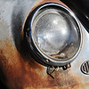 BARTVW<br /> The front headlamp of a 1958 Beetle owned by Bart Dunn of Erie.<br /> Photo by Marty Caivano/Camera/Aug. 10, 2010