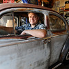 BARTVW<br /> Bart Dunn of Erie shows off one of two 1958 Volkwagen Beetles he is restoring. In addition to his 20 years of VW ownership and restoration, he is the Colorado representative for the Vintage Volkswagen Club of America.<br /> Photo by Marty Caivano/Camera/Aug. 10, 2010