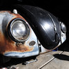 BARTVW<br /> The front end of a 1958 Beetle owned by Bart Dunn of Erie.<br /> Photo by Marty Caivano/Camera/Aug. 10, 2010